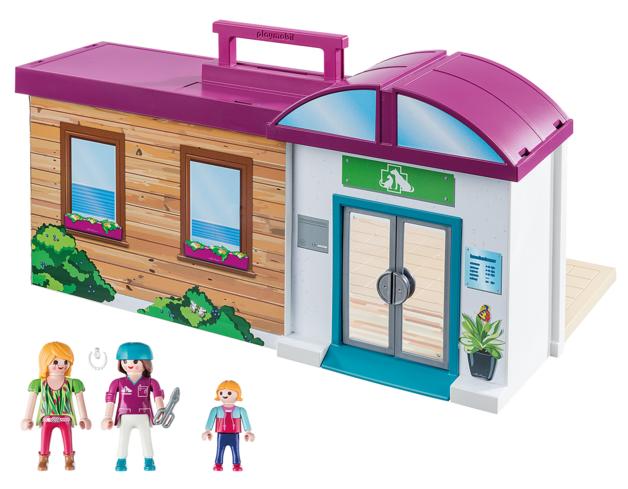 Playmobil: City Life - Take Along Vet Clinic (70146)