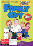 Family Guy - Season 3 (3 Disc Set) on DVD
