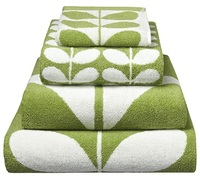 Orla Kiely Stem Jacquard Bath Sheet - Apple