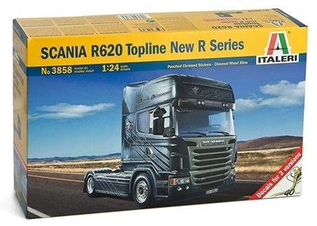 1:24 Scania R620 V8 (R Series) - Model Kit image