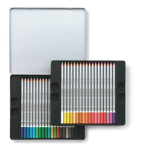 Staedtler: Karat Aquarell Professional Watercolour Pencils - Tin of 36