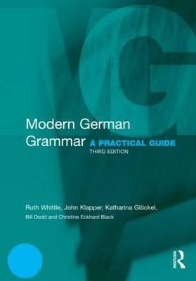 Modern German Grammar by John Klapper image
