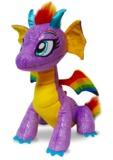 Glitter Shine Dragons: Rainbow Glow Dragon Plush