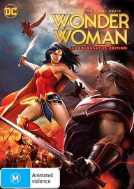 Wonder Woman Commemorative Edition on DVD