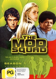 The Mod Squad (1968) - Season 1: Vol. 2 (4 Disc Set) on DVD image