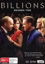 Billions - Season 2 on DVD