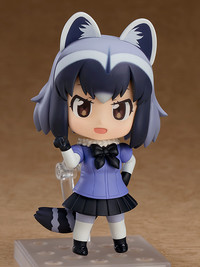 Kemono Friends: Nendoroid Common Raccoon - Articulated Figure