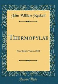 Thermopylae by John William Mackail image