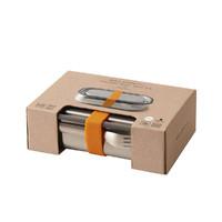 Black + Blum: Stainless Steel Lunch Box - Orange