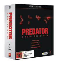 Predator 1-4 Boxset on UHD Blu-ray