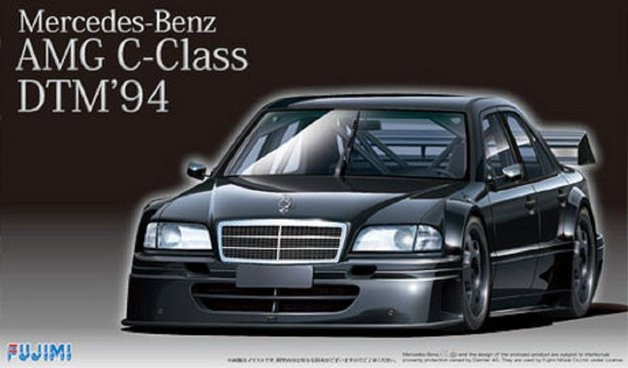 Fujimi: 1/24 Mercedes-Benz AMG C-class DTM '94 - Model Kit