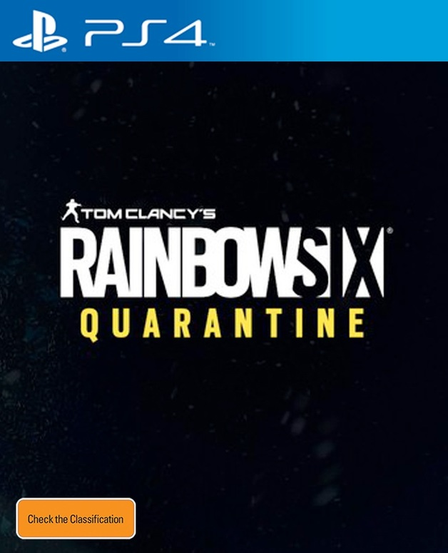Tom Clancy's Rainbow 6 Siege Quarantine for PS4
