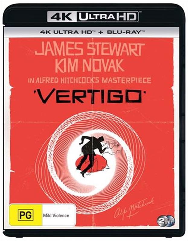 Vertigo (4K UHD + Blu-Ray) on UHD Blu-ray