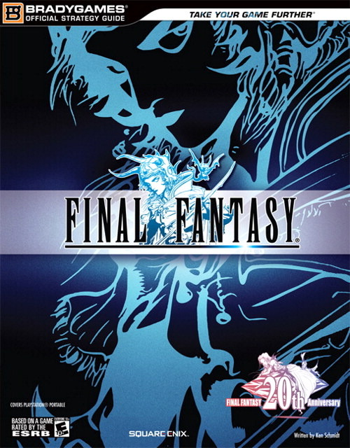 Final Fantasy Anniversary Edition Strategy Guide for PSP