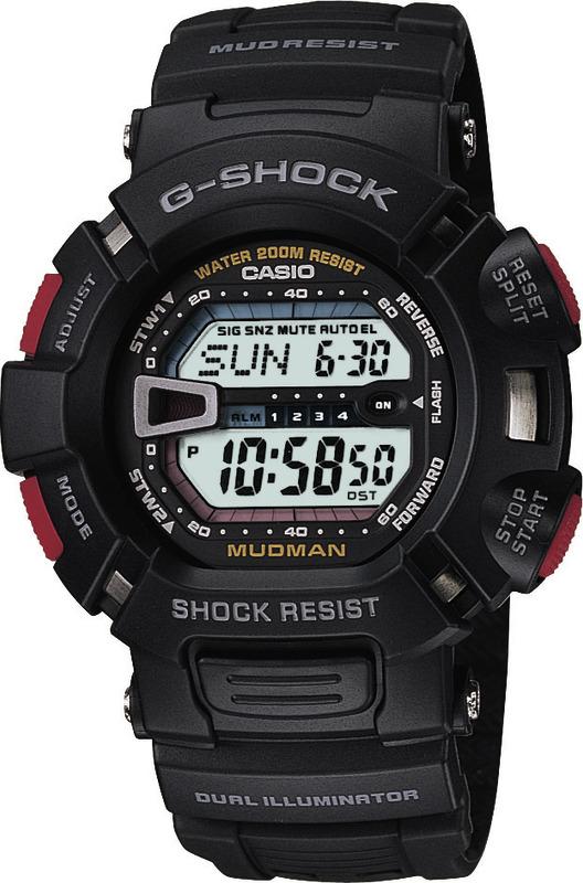 Casio Mudman Sport Shock resistant G-Shock G9000-1V