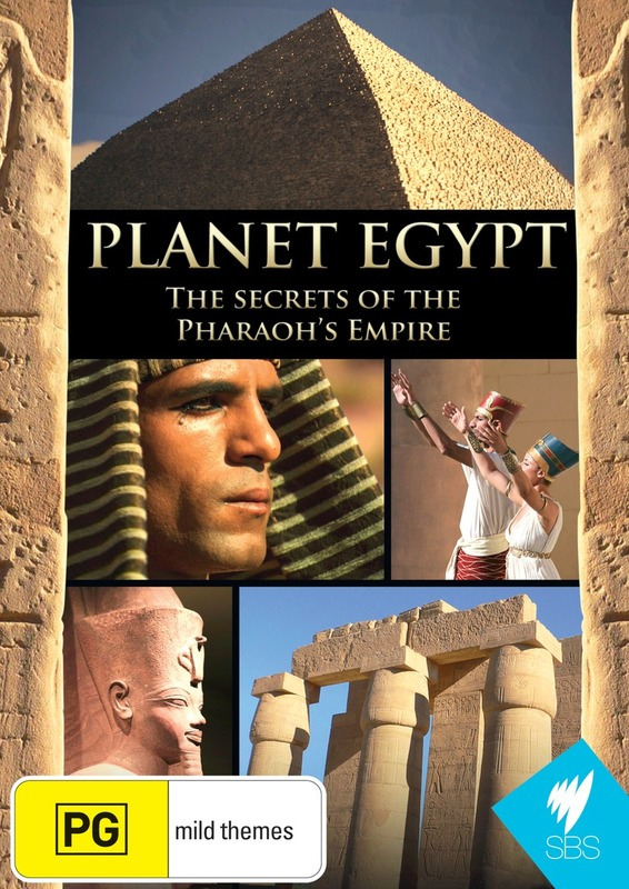 Planet Egypt on DVD