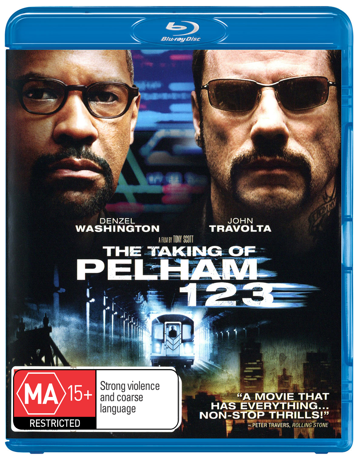 The Taking of Pelham 123 on Blu-ray image