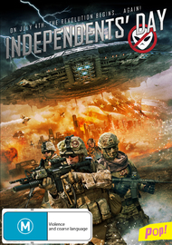 Independents' Day on DVD