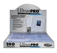 Ultra Pro 9 Pocket Silver Series Box (100 pages)