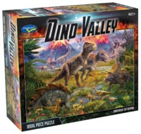 Holdson: 100XL Piece Puzzle - Dino Valley