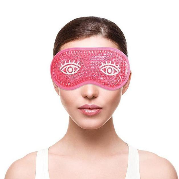 Bliss Gel Bead Re-Useable Cold Compress Eye Mask