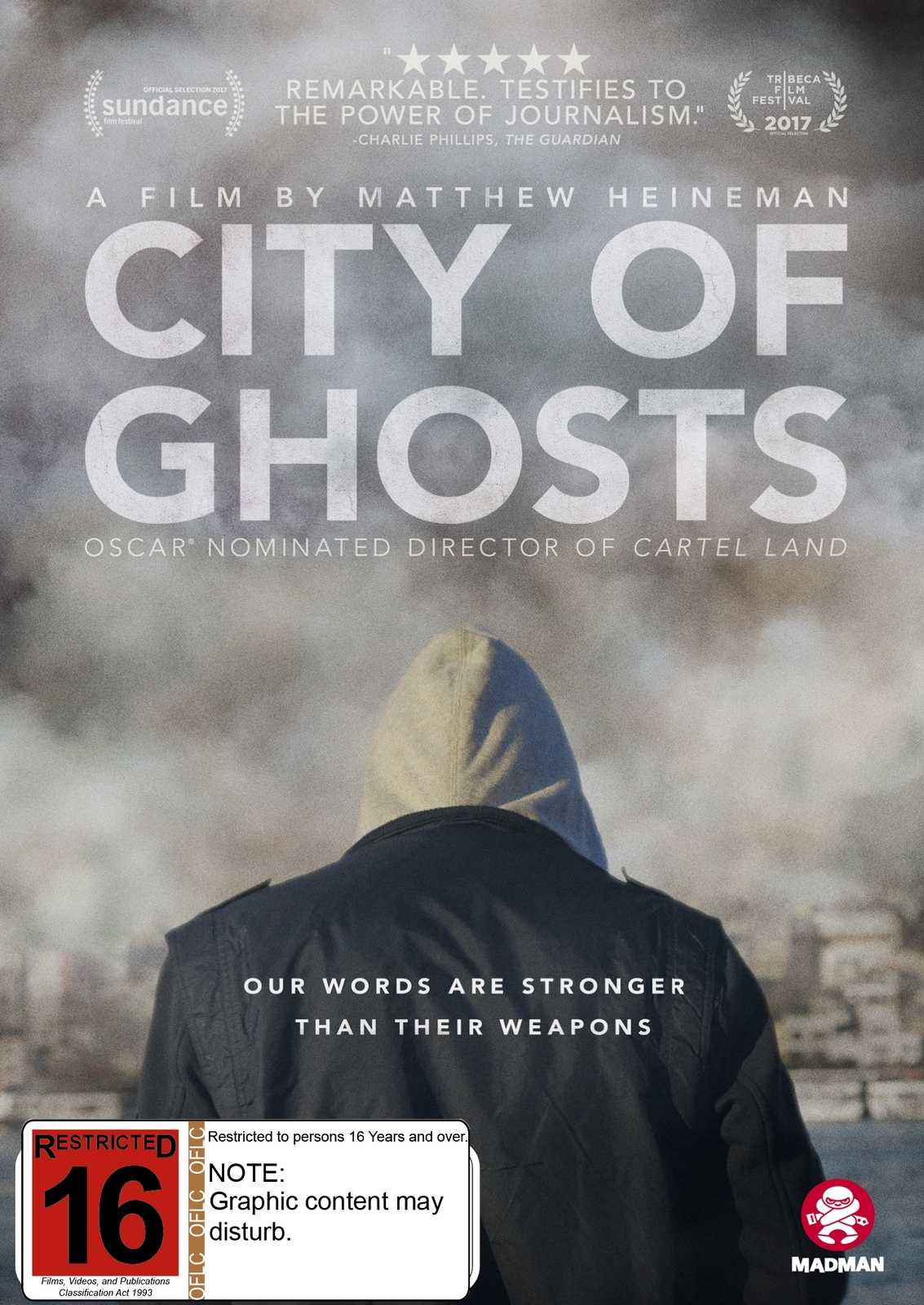 City of Ghosts on DVD image