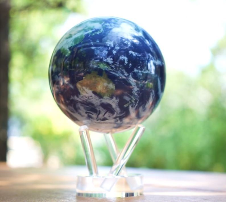 MOVA Self-Rotating Globe Satellite View (11.5cm) image