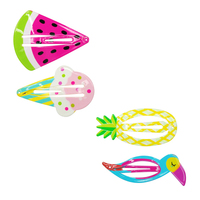 Pink Poppy: Summer Fun Shapes - Hairclip Set (Assorted Designs)