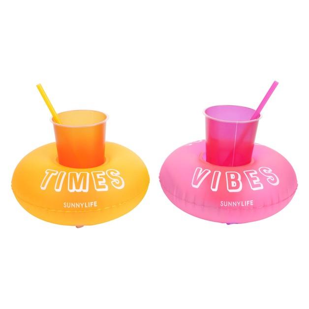 Sunnylife: Party Inflatable Drink Holders - Malibu (Set of 2)