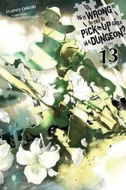 Is It Wrong to Try to Pick Up Girls in a Dungeon?, Vol. 13 (light novel) by Fujino Omori
