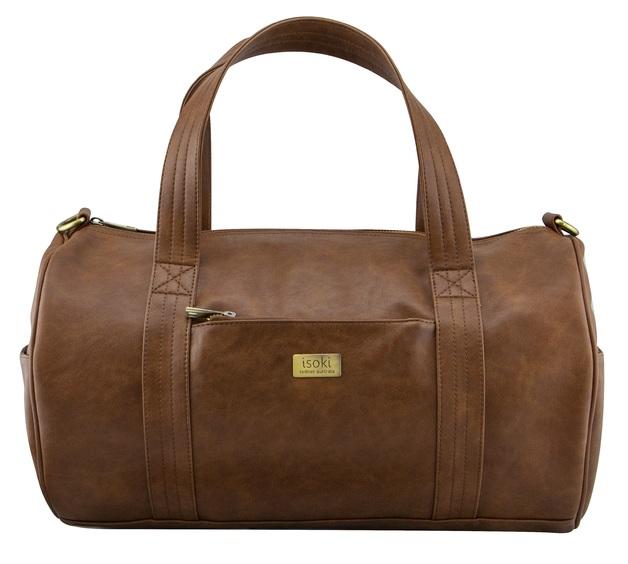 Isoki: Kingston Duffle Bag - Redwood