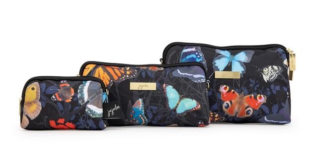 Ju-Ju-Be: Be Set Diaper Bag Set - Social Butterfly