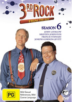 3rd Rock From The Sun Season 6 (3 Disc) on DVD