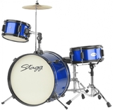 "Stagg 3pc Junior Drum Set 16"" (Blue)"