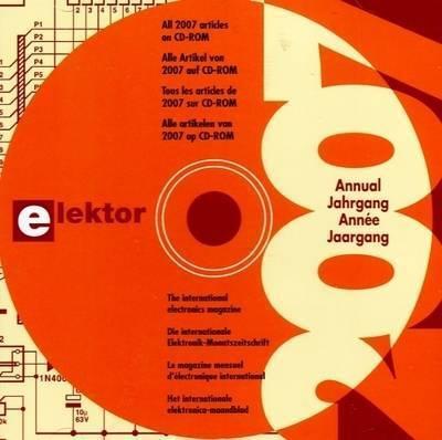 Elektor 2007 CD-ROM
