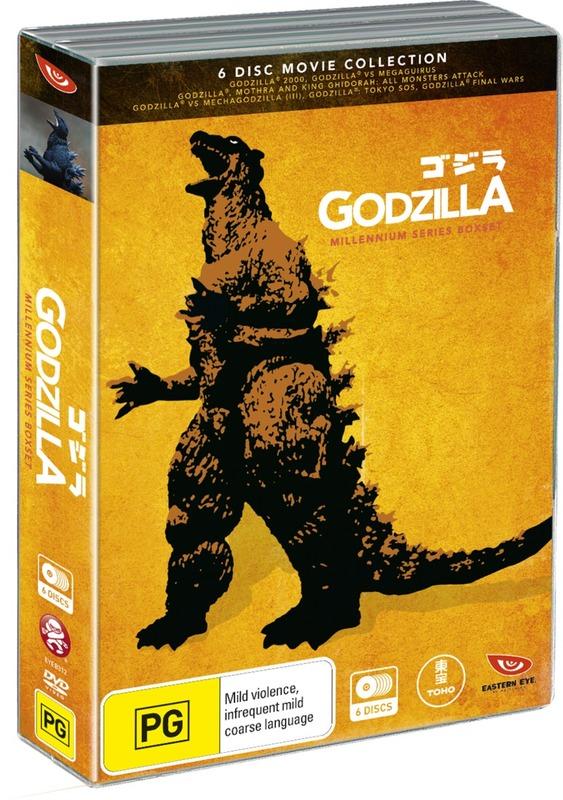 Godzilla - Millennium Series Box Set on DVD