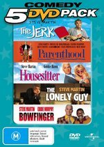 Steve Martin 5 DVD Pack (Jerk / Parenthood / Housesitter / Lonely Guy / Bowfinger) (5 Disc Set) on DVD