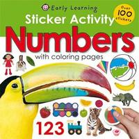 Sticker Activity Numbers by Roger Priddy