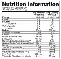 Optimum Nutrition: Burn Complex Thermogenic Drink Mix - Kiwi Strawberry (30 Serves) image