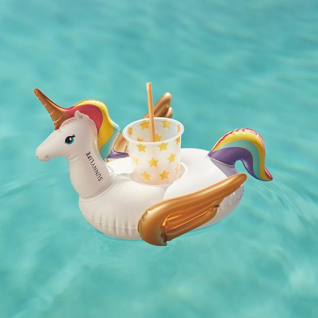 Sunnylife: Inflatable Drink Holder - Unicorn