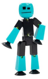 Stikbot: Single Pack - Black/Blue
