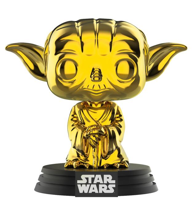 Star Wars - Yoda (Gold Chrome) Pop! Vinyl Figure