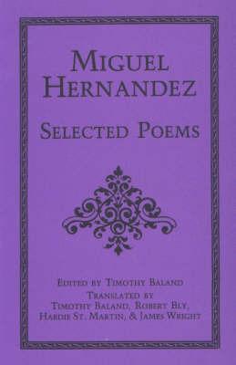 Selected Poems by Miguel Hernandez image