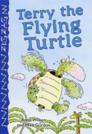 Terry the Flying Turtle by Anna Wilson image