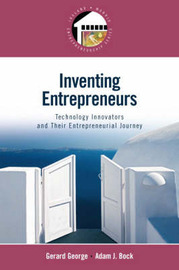 Inventing Entrepreneurs by Gerry George image