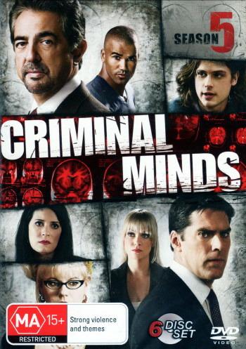 Criminal Minds - Season 5 (6 Disc Set) on DVD
