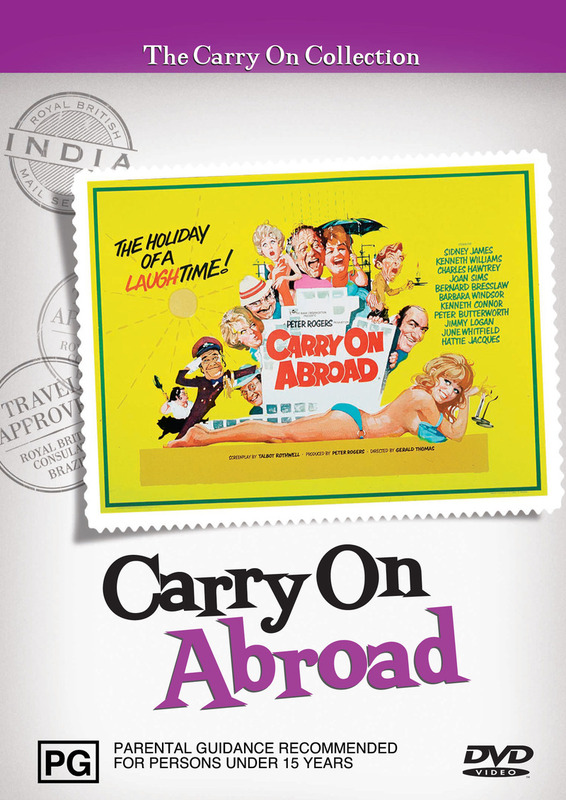 Carry On Abroad on DVD