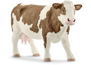 Schleich: Simmental Cow