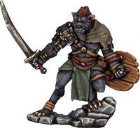 Frostgrave Gnoll Chieftan