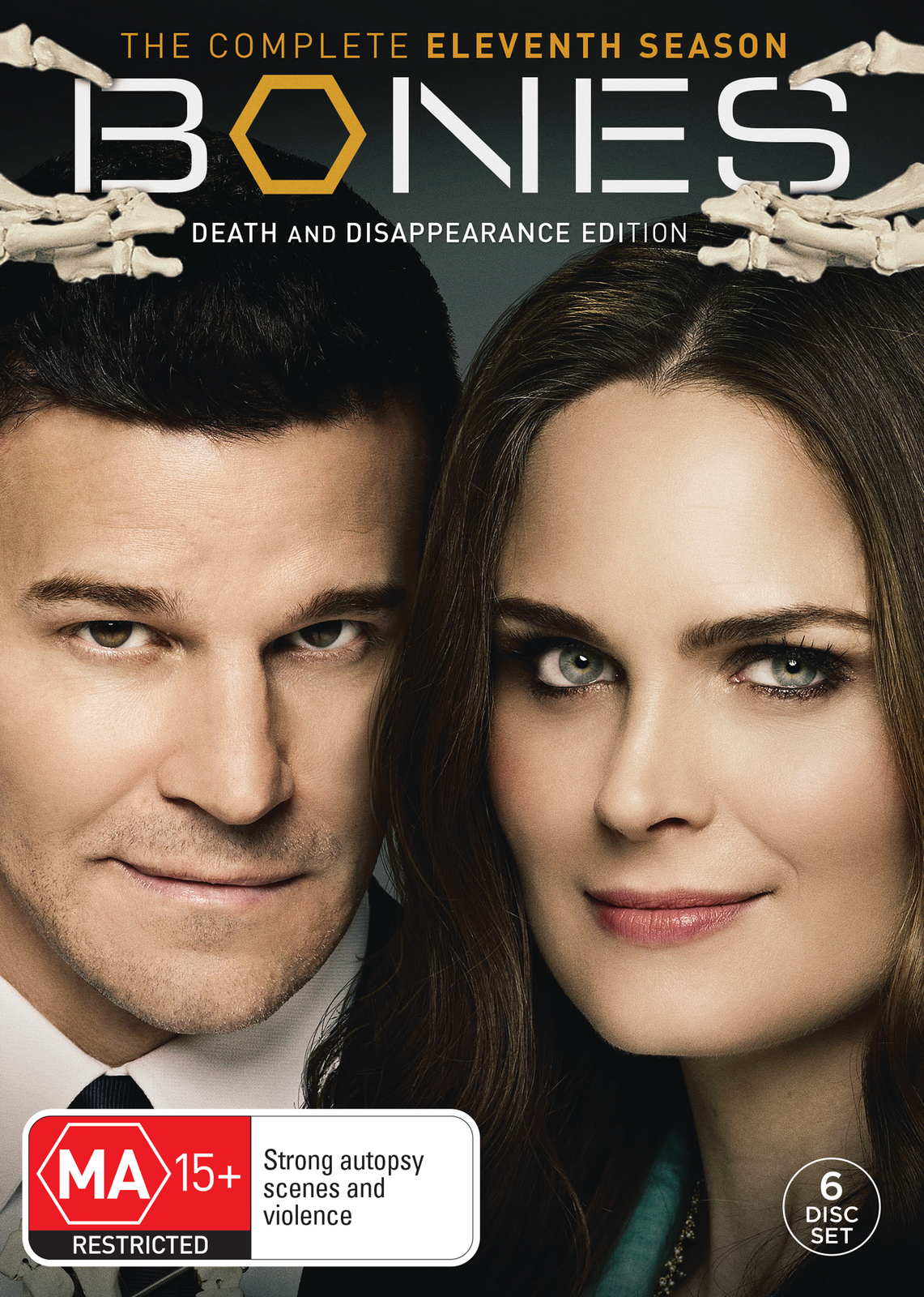 Bones - The Complete Eleventh Season on DVD image